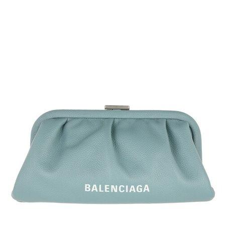 Balenciaga  Clutches - Cloud XS Clutch With Strap - in blue - für Damen
