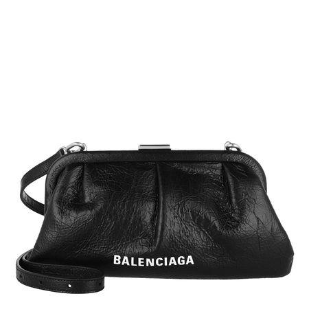 Balenciaga  Clutches - Cloud XS Clutch With Strap - in schwarz - für Damen schwarz