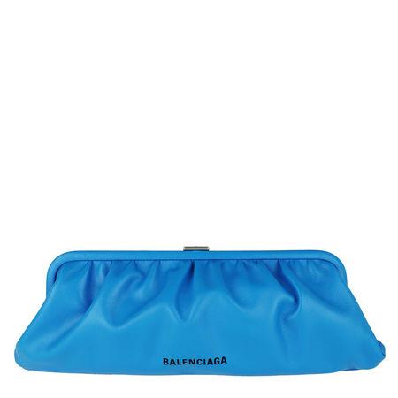 Balenciaga  Clutches - XL Cloud Pouch - in blau - für Damen blau