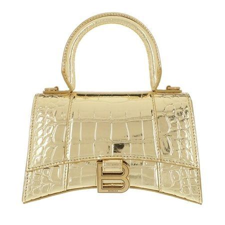 Balenciaga  Crossbody Bags - Hourglass Top Handle XS Shoulder Bag - in gold - für Damen