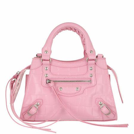 Balenciaga  Crossbody Bags - Neo Classic Mini Top Handle Bag Leather - in pink - für Damen