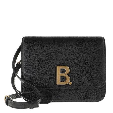 Balenciaga  Crossbody Bags - Small B. Crossbody Bag Leather - in schwarz - für Damen