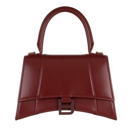 Balenciaga  Crossbody Bags - Small Hourglass Top Handle Shoulder Bag - in rot - für Damen