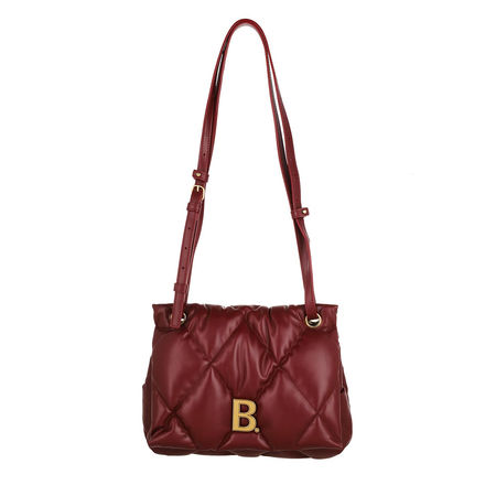 Balenciaga  Crossbody Bags - Touch Puffy Crossbody Bag - in rot - für Damen braun