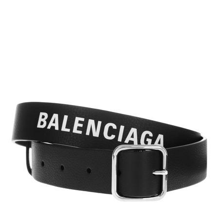 Balenciaga  Gürtel  -  Everyday Belt Leather Black  - in schwarz  -  Gürtel für Damen schwarz