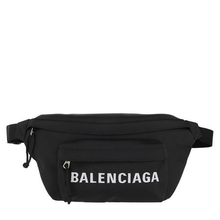 Balenciaga  Gürteltasche  -  Funny Pack Belt Bag Canvas Black  - in schwarz  -  Gürteltasche für Damen schwarz