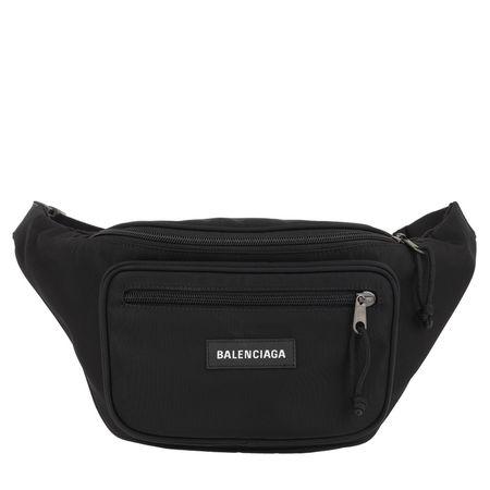 Balenciaga  Gürteltasche  -  NY Belt Bag Nylon Black  - in schwarz  -  Gürteltasche für Damen schwarz