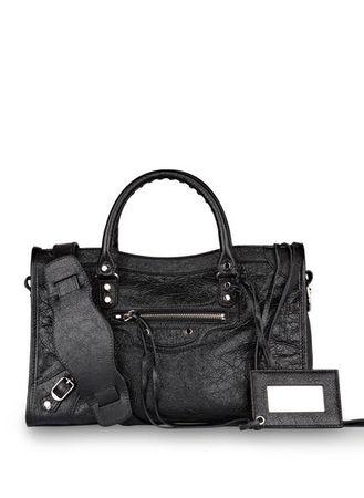 Balenciaga  Handtasche Classic City S schwarz grau