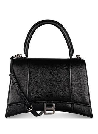 Balenciaga  Handtasche Hourglass M schwarz schwarz