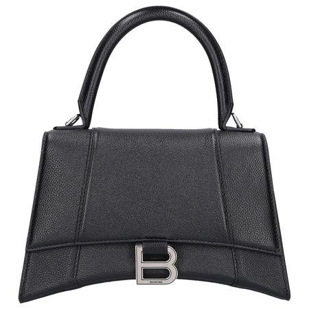 Balenciaga Handtasche HOURGLASS XXS Kalbsleder