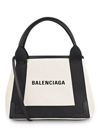 Balenciaga  Handtasche Mit Pouch schwarz beige