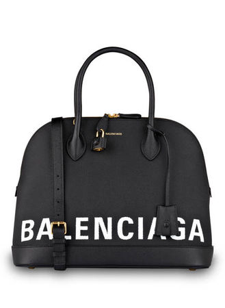 Balenciaga  Handtasche Ville M schwarz grau