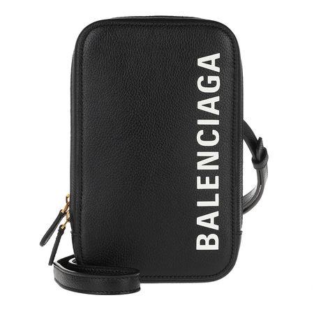 Balenciaga  Handyhüllen - Cash Zip Phone Holder - in schwarz - für Damen