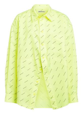 Balenciaga  Hemdbluse gelb gruen