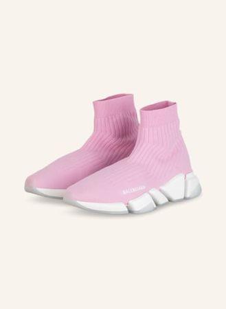 Balenciaga  Hightop-Sneaker Speed 2.0 pink