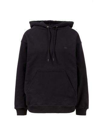 Balenciaga  - Hoodie mit kleinem Logo Schwarz schwarz