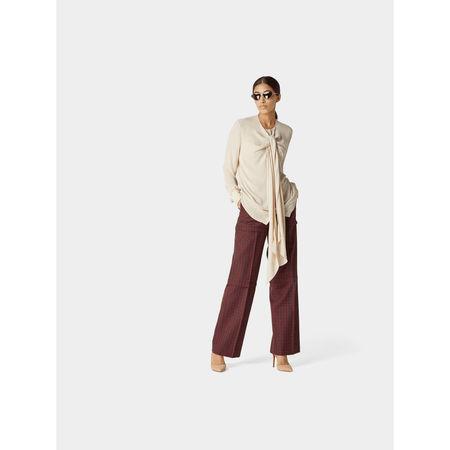 Balenciaga Hose mit Eingrifftaschen grau