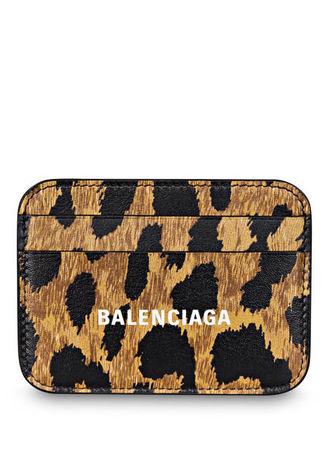 Balenciaga  Kartenetui beige schwarz
