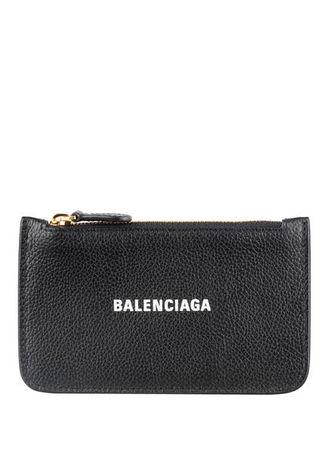 Balenciaga  Kartenetui Mit Münzfach schwarz grau