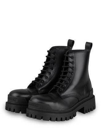 Balenciaga  Plateau-Boots Strike schwarz schwarz