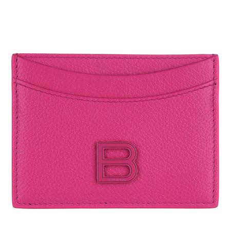 Balenciaga  Portemonnaie - Card Holder Leather - in pink - für Damen pink