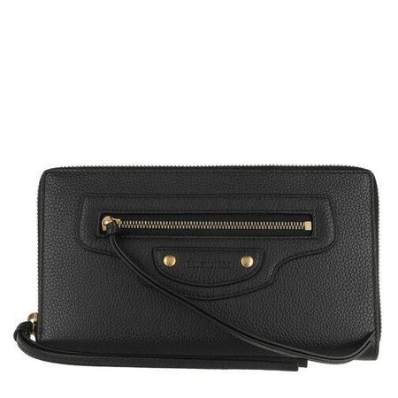 Balenciaga  Portemonnaie - Continental Wallet - in black - für Damen