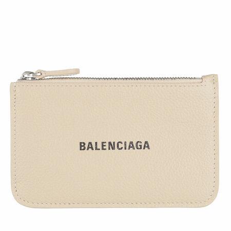 Balenciaga  Portemonnaie - Neo Classic Card Holder - in beige - für Damen