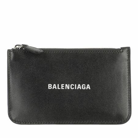 Balenciaga  Portemonnaie - Neo Classic Card Holder - in grau - für Damen