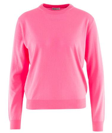 Balenciaga  - Pullover aus Wolle pink