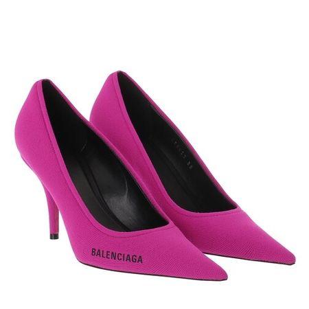Balenciaga  Pumps & High Heels - Knige Knit Pumps - in pink - für Damen