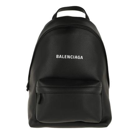 Balenciaga  Rucksack - Everyday Backpack Small Leather - in black - für Damen schwarz