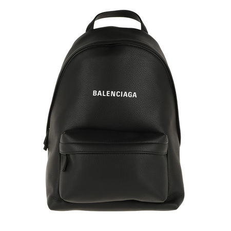 Balenciaga  Rucksack - Everyday Backpack Small Leather - in schwarz - für Damen schwarz