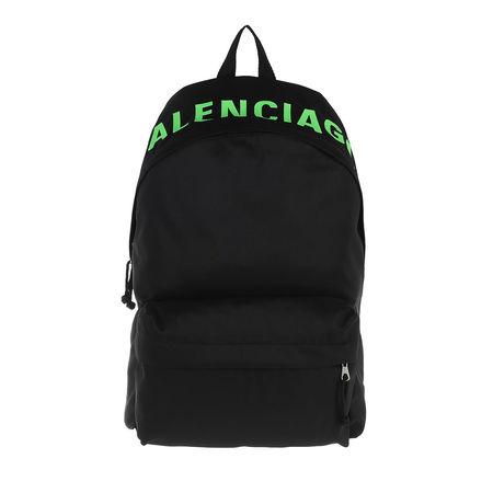 Balenciaga  Rucksäcke - Wheel Backpack - in black - für Damen schwarz