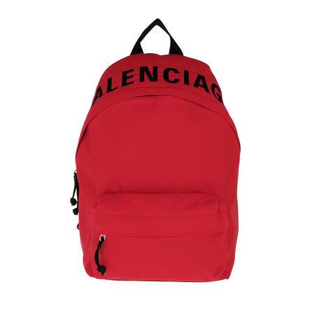 Balenciaga  Rucksäcke - Wheel Backpack - in bunt - für Damen rot
