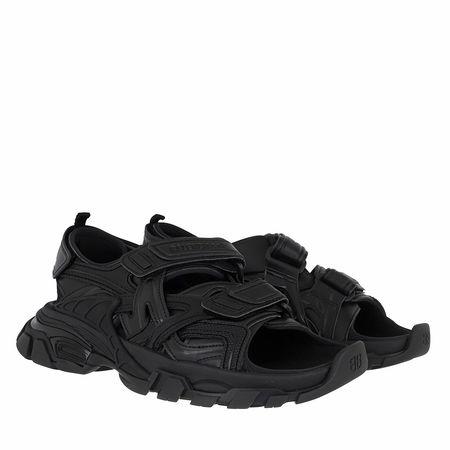 Balenciaga  Sandalen & Sandaletten - Track Sandal - in schwarz - für Damen schwarz