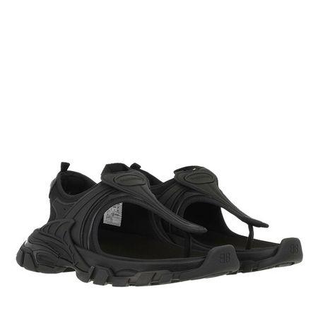 Balenciaga  Sandalen & Sandaletten - Track Thong Sandals - in black - für Damen