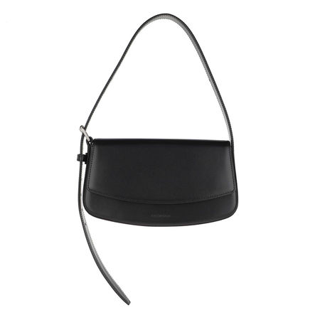 Balenciaga  Satchel Bag - Baguette Belt Bag Leather - in schwarz - für Damen schwarz