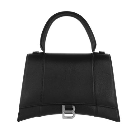 Balenciaga  Satchel Bag - Hourglass Medium Satchel Bag Leather - in schwarz - für Damen schwarz