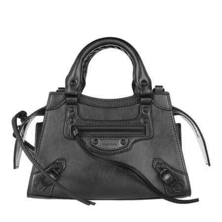 Balenciaga  Satchel Bag - Neo Classic Mini Top Handle Bag Leather - in grau - für Damen