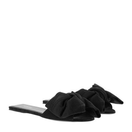 Balenciaga  Schuhe  -  Bow Slides Black  - in schwarz  -  Schuhe für Damen schwarz