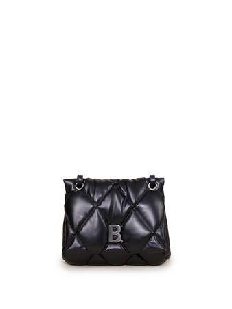 Balenciaga  - Schultertasche 'Touch Puffy' Schwarz schwarz