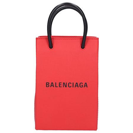 Balenciaga Shopping XXS Kalbsleder rot