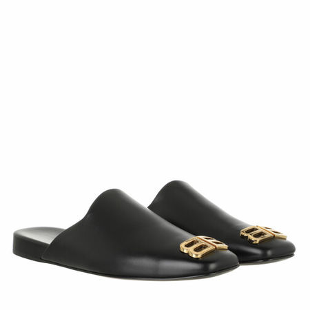 Balenciaga  Slipper & Pantoletten - Cosy BB Mule - in black - für Damen