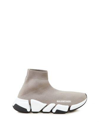 Balenciaga  - Sneaker 'Speed 2.0 LT' Beige