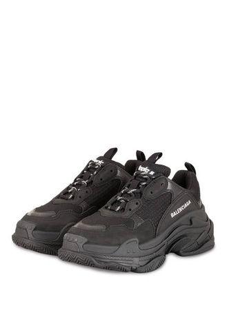 Balenciaga  Sneaker Triple S schwarz grau