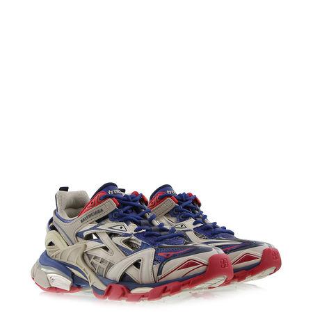 Balenciaga  - Sneakers Track 2 aus Nylon und Mesh grau