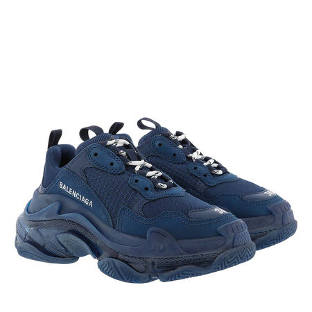 Balenciaga  Sneakers - Triple S Sneaker 3.0 - in blau - für Damen grau