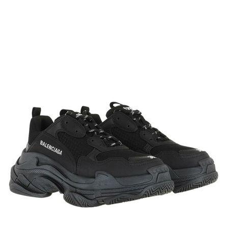 Balenciaga  Sneakers - Triple S Sneaker - in schwarz - für Damen