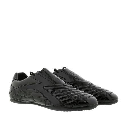 Balenciaga  Sneakers - Zen Sneakers Leather - in schwarz - für Damen grau