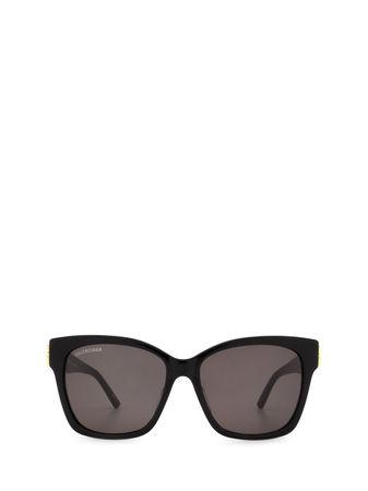 Balenciaga Sonnenbrille BB0102SA 001 Acetat
